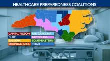 IMAGES: New NC hospitalization data breaks down COVID-19 spikes by region