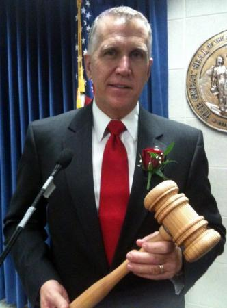 New NC House Speaker Thom Tillis:  Speak softly,   but carry a big gavel.