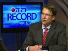 On the Record: Pat McCrory critiques NC politics