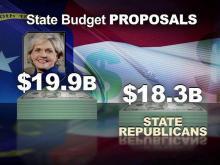 GOP sets $18.3B spending target