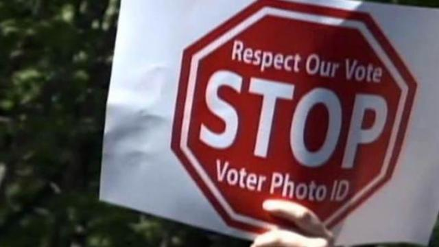 North Carolina is among state considering requiring photo identification for voters at the polls.