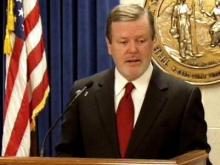 Senate Leader Phil Berger's news conference, May 2, 2011