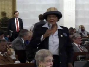 Alma Adams in House session