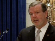 Senate Leader Phil Berger's press conference, May 18, 2011