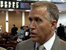 Tillis explains delay of unemployment fix