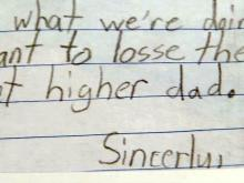 Student letter about budget cuts