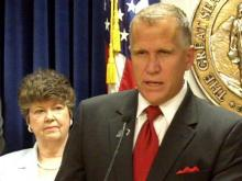 Tillis on budget, NCAE, crossover