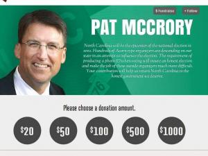 McCrory page