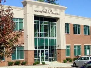 NC Office of Administrative Hearings, Raleigh (courtesy OAH)