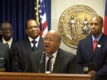 GOP, African-American pastors call for marriage amendment