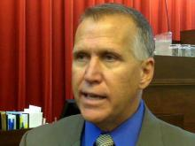 Tillis on marriage amendment, term limits, disaster relief