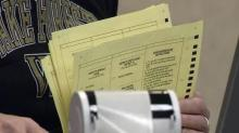 Ballots, poll worker, election worker