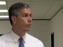 US Ed Secretary Arne Duncan on Wake Schools, NCLB