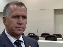 Tillis on Medicaid, economy, drug testing
