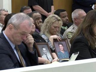 Relatives of murder victims, clergy members, lawmakers and even a wrongly convicted man appeared Nov. 28, 2011, before a legislative committee considering whether to repeal a 2-year-old law for death row inmates.
