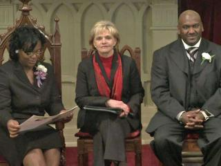 Gov. Bev Perdue and state employees honored the legacy of Martin Luther King Jr. Friday.