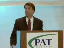 McCrory: 'We won't get fooled again'