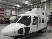 Sikorsky S-76 helicopter