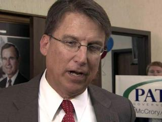 Republican gubernatorial candidate Pat McCrory