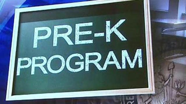 NC Pre-K program, pre-kindergarten
