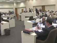 Public comment on Senate budget proposal