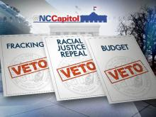 Lawmakers override one veto, others in question