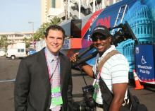 WRAL News covers the Republican National Convention in Tampa, Fla., Aug 27-30, 2012.