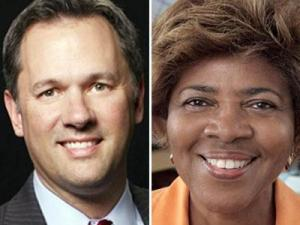 Candidates for lieutenant governor: Dan Forest and Lina Coleman