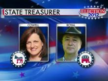 State treasurer's race: Cowell vs. Royal