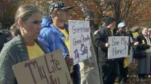 Personal care services protest