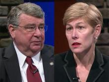 Rep. Jim Fulghum, R-Wake, and Rep. Deborah Ross, D-Wake