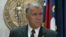 IMAGE: Tillis: Fraud 'not the primary reason' for voter ID push