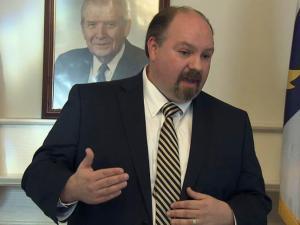 N.C. Democratic Party Chairman Randy Voller