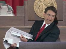 McCrory State of State