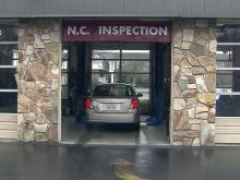 Vehicle inspection station, safety inspection