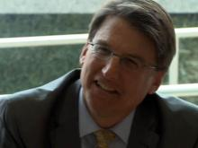 McCrory discusses MetLife incentives