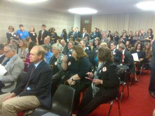 Nurse anesthetists push against HB 181 on March 12, 2013.