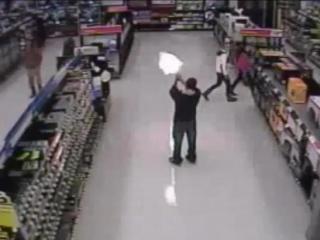 Surveillance video: Man opens fire in Kernersville Walmart