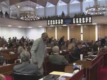 House debates DWI laws, cursive writing