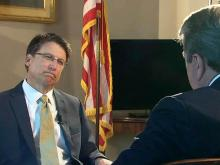 Web only: McCrory discusses first 100 days in office
