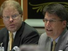 McCrory urges education efficiency to UNC leaders