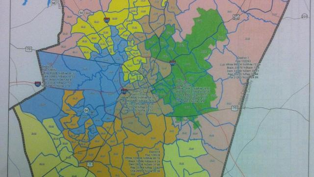 Sen. Neal Hunt, R-Wake, has proposed new Wake County school districts.