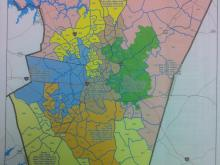 Proposed Wake County Schools Map