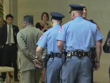 One by one, police arrested 17 people Monday evening during a NAACP protest at the General Assembly.