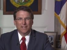 Gov. McCrory gives the national GOP response to the president's weekly radio address, 5/4/13