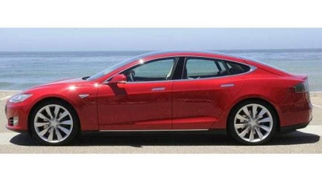 Picture of a Tesla model S