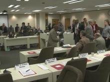 Crowd joins committee for voucher bill debate