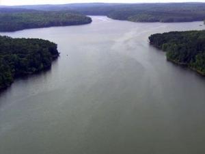 Jordan Lake aerial