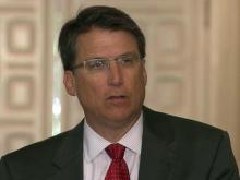 McCrory discusses end of legislative session