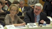 DHHS Secretary Aldona Wos and Chief Information Officer Joe Cooper